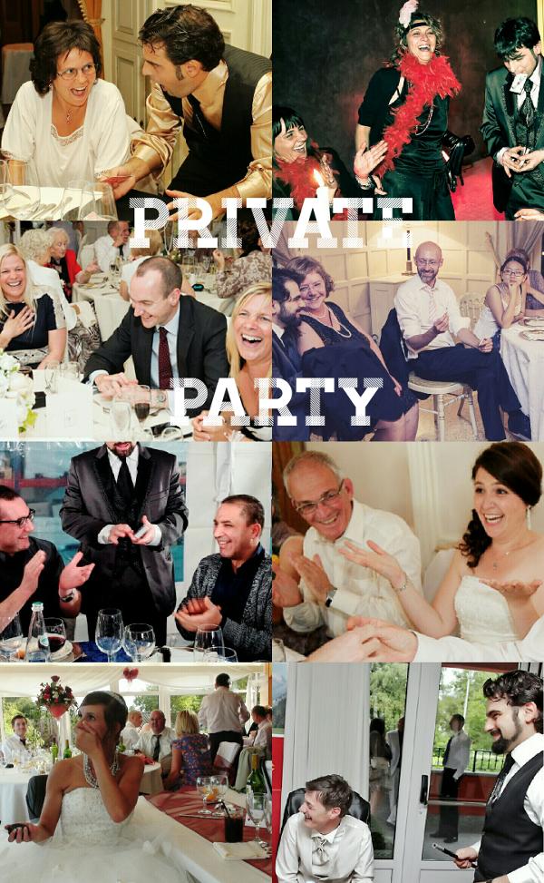 mago per festa privata
